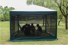 Hot Selling Foldable sunshade 10 Person Advertising tent Mosquito net,TXZ-0027 Pop up Advertising Folding tent,Pop Up Tent