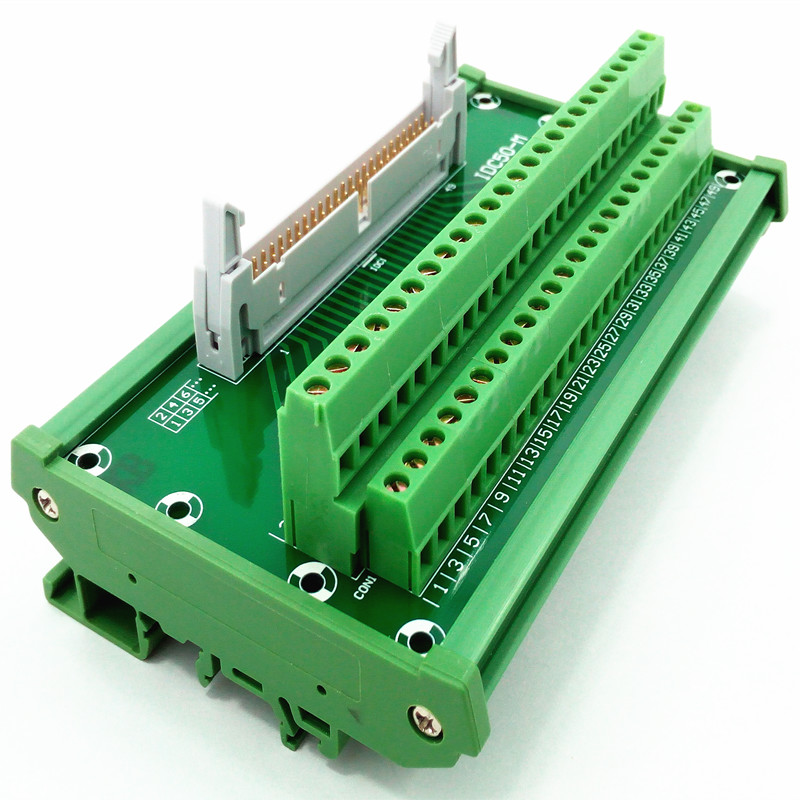 IDC-50 DIN Rail Mounted Interface Module.<br>