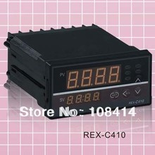 Digital PID Temp Controller REX-C410 48*96mm Horizontal, Input thermocouple K, Relay Output for heat(China)