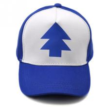 2016 Fashion PINE TREE Print Trucker Cap Cartoon Fans Dipper Men Women Children Gravity Falls Flat Bill Snapback Hats