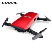 GoolRC T47 Rc Airplane Quadcopter 6-Axis Gyro WIFI FPV 720P HD Wifi Camera Drone Foldable G-sensor RC Drones RTF RC Plane Model(China)