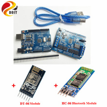 Official DOIT WiFi/Blutooth Robotic Controller Kit Servo Motor Driver Board DT-06 Serial WiFi HC-06 Bluetooth Module for Arduino(China)