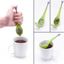 Good Quality Healthy Flavor Tea Infuser Gadget Measure Swirl Steep Stir And Press Food Grade PlasticTea&Coffee Strainer