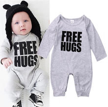 Baby One Piece Suit Newborn Kids Baby Boys Cotton Romper Long Sleeve Jumpsuit Outfits Clothes Baby Winter Clothing Outfit CA