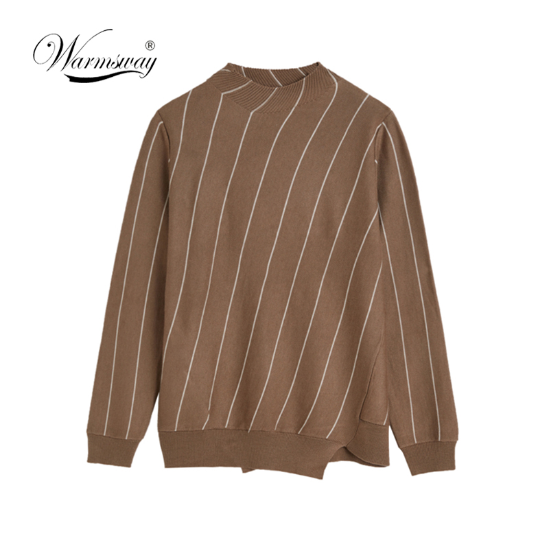 On sale ! Autumn Winter asymmetrical  Turtleneck Sweater Women Fashion Knitted Casual Pullover  Pull Femme Loose jumper  C-151