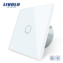 Livolo EU Standard Switch,  AC 220~250V Remote& Dimmer Wall Light Switch,VL-C701DR-1/2/3/5