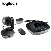Logitech CC3500e Group HD Video Audio Conferencing System Webcam , Business Webcam for Big Meeting Rooms