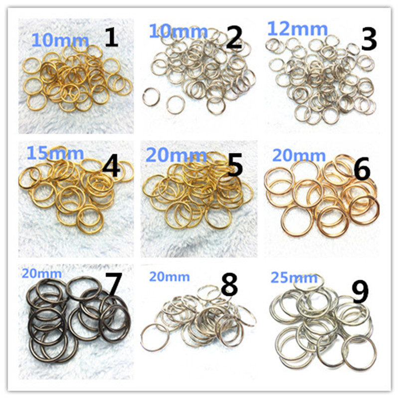 -30mm Non Welded Metal O Ring Nickel&Black Nickel Plated Backpack Collar Harness Rings Bag Parts Accessories_ (2)