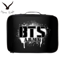 Hynes Eagle Korean Style BTS Travel Bags Waterproof Aircraft Bag Casual 3D Prints Travel Totes Large Set Packing Cubes Luggage