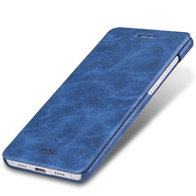 "Xiaomi mi5 case cover xiaomi mi 5 cover filp case Pu leather MOFi original line navy blue brown xiaomi 5 coque capa funda 5.15""(China)"