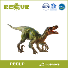 Recur High Quality Jurassic Dinosaur PVC Deinonychus Plastic Toys Animal Model Prehistoric Action & Figures Collections For Kids