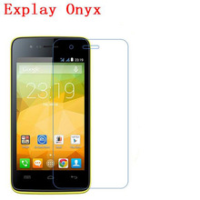 3 PCS HD phone film PE touch preserving eyesight for Explay Onyx screen protector with wipe(China)