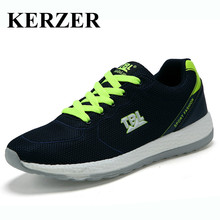 KERZER 2017 New Arrival Original Running Shoes Luxury Brand Athletic Shoes For Walking Trainers Mesh Breathable Athletic Sneaker