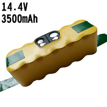 For iRobot Roomba 14.4V 3500mAh Ni-MH Vacuum Cleaner Rechargeable Battery Pack Replacement for 500 600 700 800 550 560 780 870