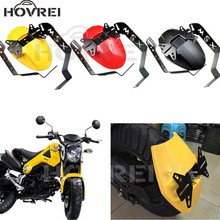 New Aluminum Motorcycle Mudguard rear fender bracket motobike mudguard Case For HONDA MSX 125 M3 3 colors Easy to Install