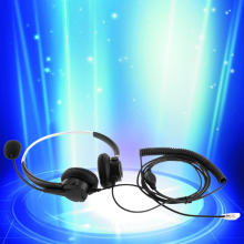Marsnaska Brand New 4-Pin Call Center Corded Operator Telephone Headset High Quality Headphones with Microphone(China)