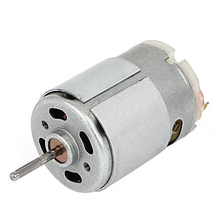 JFBL Hot 7100 RPM DC 9V 1.5A 61.2g.cm Micro Motor for Cars DIY Hobbies Silver
