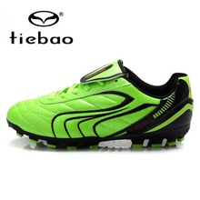 TIEBAO Professional Kids Athletic Shoes OutdoorTraining Soccer Shoes Soccer Boys Shoes FG & HG & AG Sole Children Football Shoes
