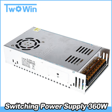 12v 30a 110/220V Dc Universal Regulated Switching Power Supply 360W for LED Strip Light CCTV Radio Computer Project(China)