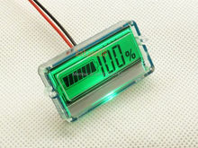 Waterproof LCD Battery Capacity Tester Indicator 12V Lead-acid Cell free shipping(China)