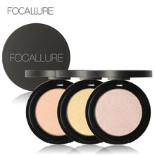 Brand FOCALLURE Face Highlighter Powder Brighten Highlighting Contour Palette Foundation Professional High Lighters Makeup(China)