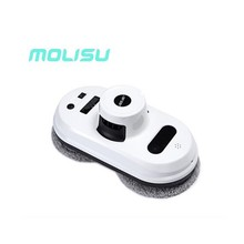 MOLISU Auto W5 clean anti-falling smart window glass cleaner remote control robot vacuum cleaner Free Shipping
