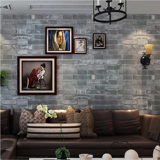 beibehang Vintage Stone Pattern Viny Wall paper for walls 3 d Living room Sofa TV  Waterproof Home Decoration Wallpaper Roll<br>