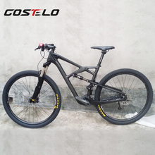 COS098 costelo 29er suspension bike ,full carbon MTB bike suspension MTB frame 29er mountain bike frame ,carbon frameset(China)