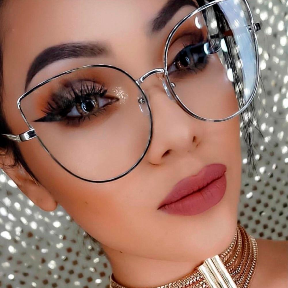 Big clear fashion glasses Clear Fashion Glasses - m