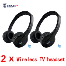 Bingle B616 5in1 Wireless Headphone Earphone HiFi Monitor FM DJ MIC for PC TV DVD Audio Mobile Voice Chating Wireless headset(China)