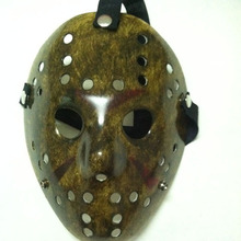 20pcs/lot Black Friday NO.13 Jason Voorhees Freddy hockey festival party Halloween masquerade mask (adult size) 100gram