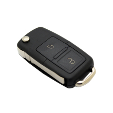 2 Buttons Remote Car Key Replacement Cover FOB Shell Case for VW Volkswagen MK4 Bora Golf 4 5 6 Passat Polo Bora Touran