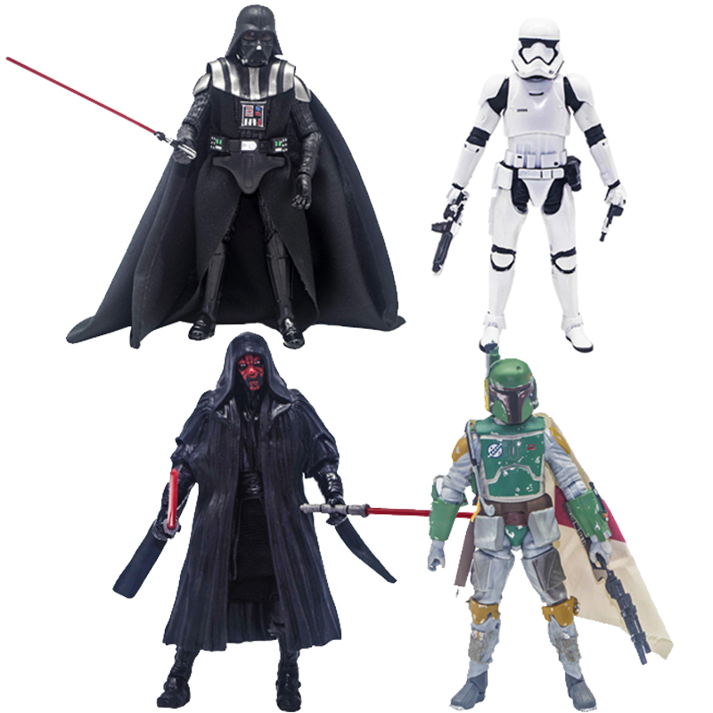 Rogue One 6 Star Wars the Force Awakens Darth Vader  Clone Trooper PVC Model Action Figure First Order Stormtrooper  BB-8 <br><br>Aliexpress