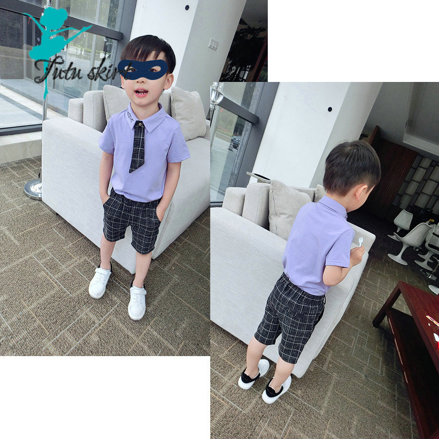 Summer Brand Baby Suit Gentleman Boys Clothing European Style Baby Boy Formal Dress Wedding Suits Birthday Party Costume<br><br>Aliexpress