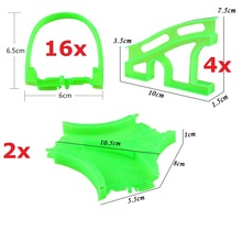 22pcs/lot Spare Parts for Racing Tracks That Bend,Flex ,Glow in the dark,Color Random, Puzzle Educational Toys(China)