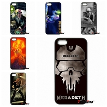 Megadeth Theme Skidproof Logo Poster Phone Cover case For iPhone 4 4S 5 5C SE 6 6S 7 Plus Galaxy J5 J3 A5 A3 2016 S5 S7 S6 Edge