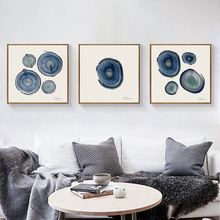 Modern simple ring abstraction print canvas painting Decor Painting Home Decor On Canvas Modern Wall Prints art work no framed(China)