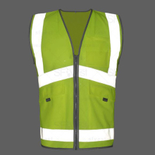 SFvest EN471 Men's safety reflective vest construction vest work vest free shiping(China)