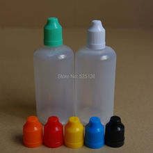 10pcs colorful 100ml Plastic Dropper Bottle Empty Bottle With Childproof Cap And Long Thin Tip 100ml e Liquid Bottle(China)