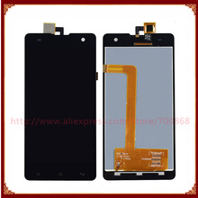 For Myphone Cube Phone LCD Display With Touch Screen Digitizer Assembly Black Free Shipping(China)