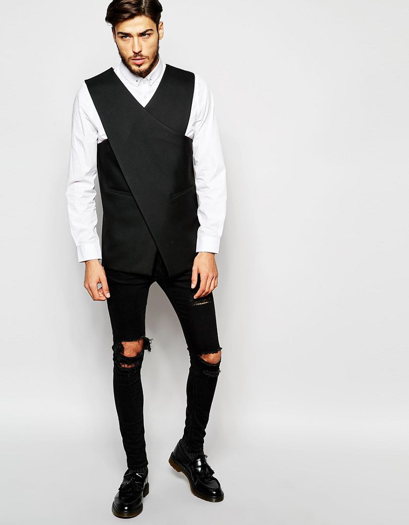 2018-New-Design-Longline-Waistcoat-Custom-Made-Vest-for-Man-s-clothes-Free-Waistcoat-And-Leisure (2)
