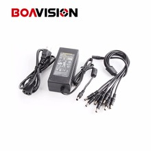 100V-240V 12V 8.5A 8 Port CCTV Camera AC Adapter Power Supply Box For CCTV Security Camera DVR Kit(China)