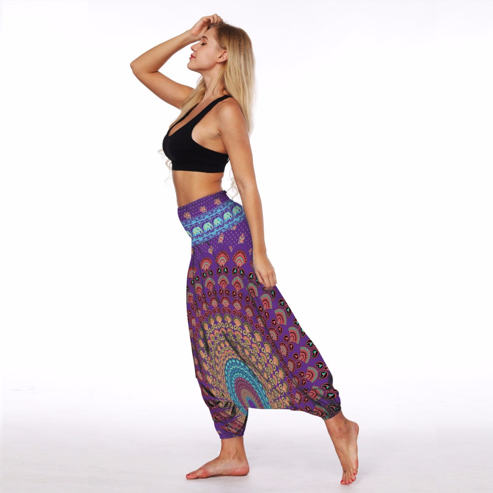 Purple aztec lantern legging (3)