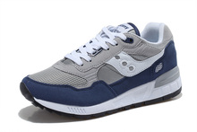 Free Shipping Saucony Shadow 5000 Women's Shoes,High Quality Retro Women's Shoes Sneakers Grey/Blue SAUCONY Hiking Shoes(China)