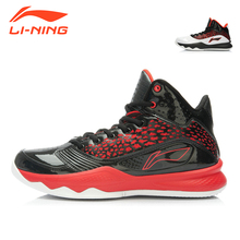 Li-Ning Brand Men Basketball Shoes Anti-Slip Sneakers Damping Lace-Up Outdoor Wearproof basket homme Sports Shoes LiNing ABPK029