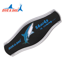 DIVE&SAIL DIVING mask Strap Wrapper Neoprene Mask Cover SCUBA Snorkeling Water Sport(China)