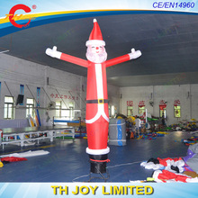 free air shipping to door,5m*45cm  Standing Inflatable Santa Claus Air sky  dancer Christmas decoration