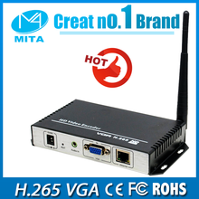 HD H.265 VGA video encoder WiFi for IPTV streaming to VLC Media Server Xtream Codes(China)