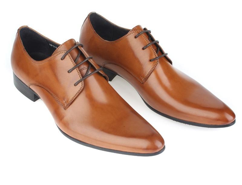 Wearing dress shoes men