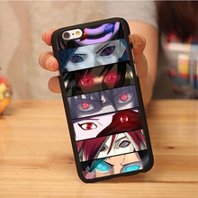 Recommended Discount Anime Naruto Phone Cases OEM For iPhone 6 6S Plus 7 7 Plus 5 5S 5C SE 4S Soft TPU Back Cover Shell
